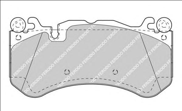 Колодки тормозные дисковые Premier Ferodo FDB4373FDB4373
