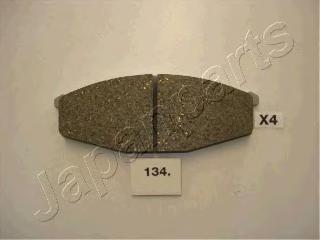 Колодки тормозные дисковые Japanparts PA134AFPA134AF