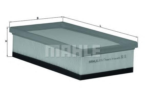 Фильтр воздушный Mahle/Knecht LX1617LX1617