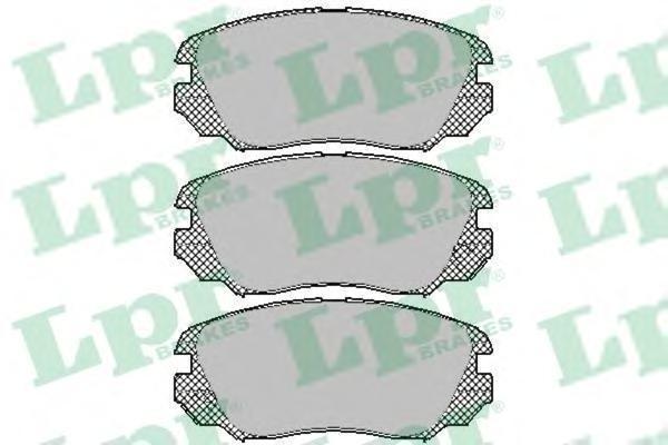 Колодки тормозные LPR / AP 05P140905P1409