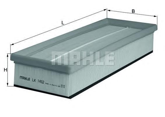 Фильтр воздушный Mahle/Knecht LX1452LX1452