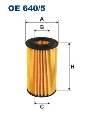 Фильтр масляный Filtron OE6405OE6405