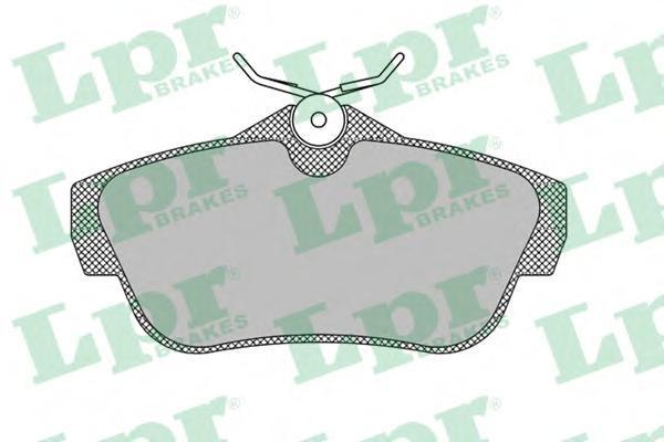Колодки тормозные задние LPR / AP 05P146005P1460