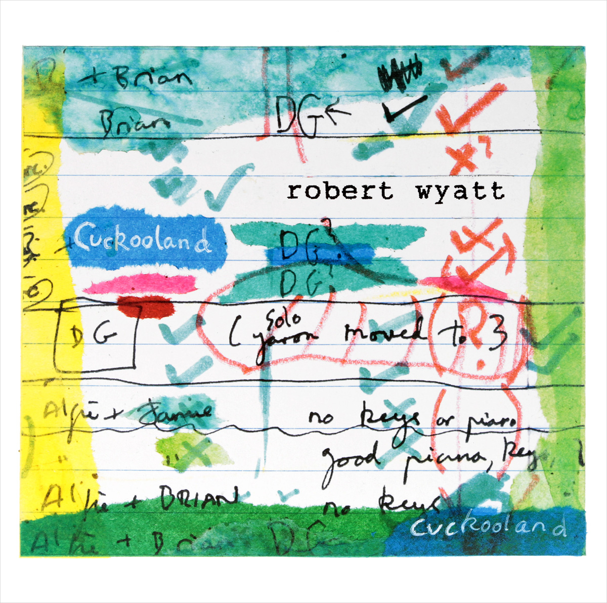 Роберт Уайатт Robert Wyatt. Cuckooland (2 LP) james yorkston the cellardyke recording and wassailing society 2 lp