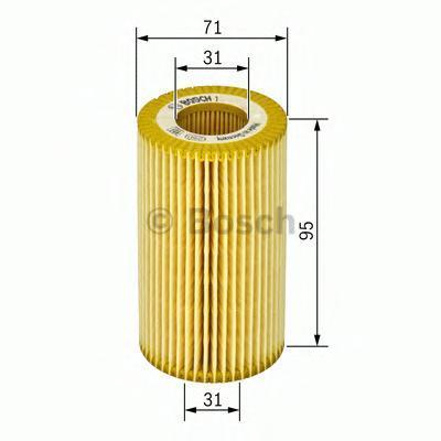 Фильтр масляный Bosch F026407008F026407008