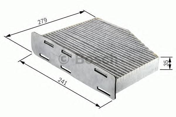 Фильтр салона (угольный) Bosch 19874323691987432369
