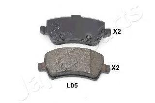Колодки тормозные дисковые Japanparts PPL05AFPPL05AF