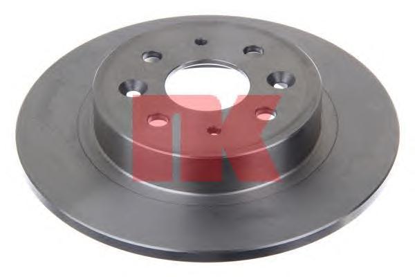 Диск тормозной NK 203508 комплект 2 шт203508
