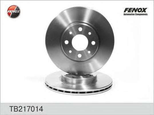 Диск тормозной Fenox TB217014TB217014
