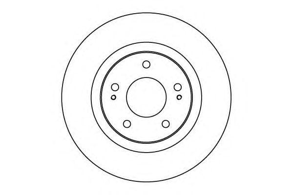 Диск тормозной NK 203043 комплект 2 шт203043
