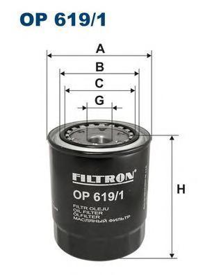 Фильтр масляный Filtron OP6191OP6191