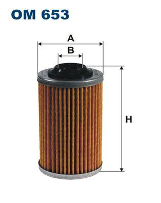 Фильтр масляный Filtron OM653OM653