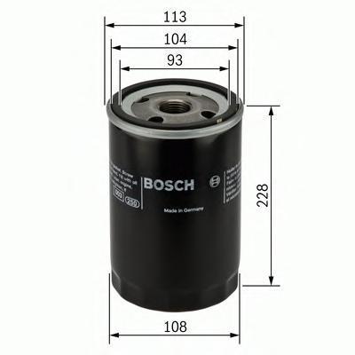 Фильтр масляный Bosch F026407048F026407048