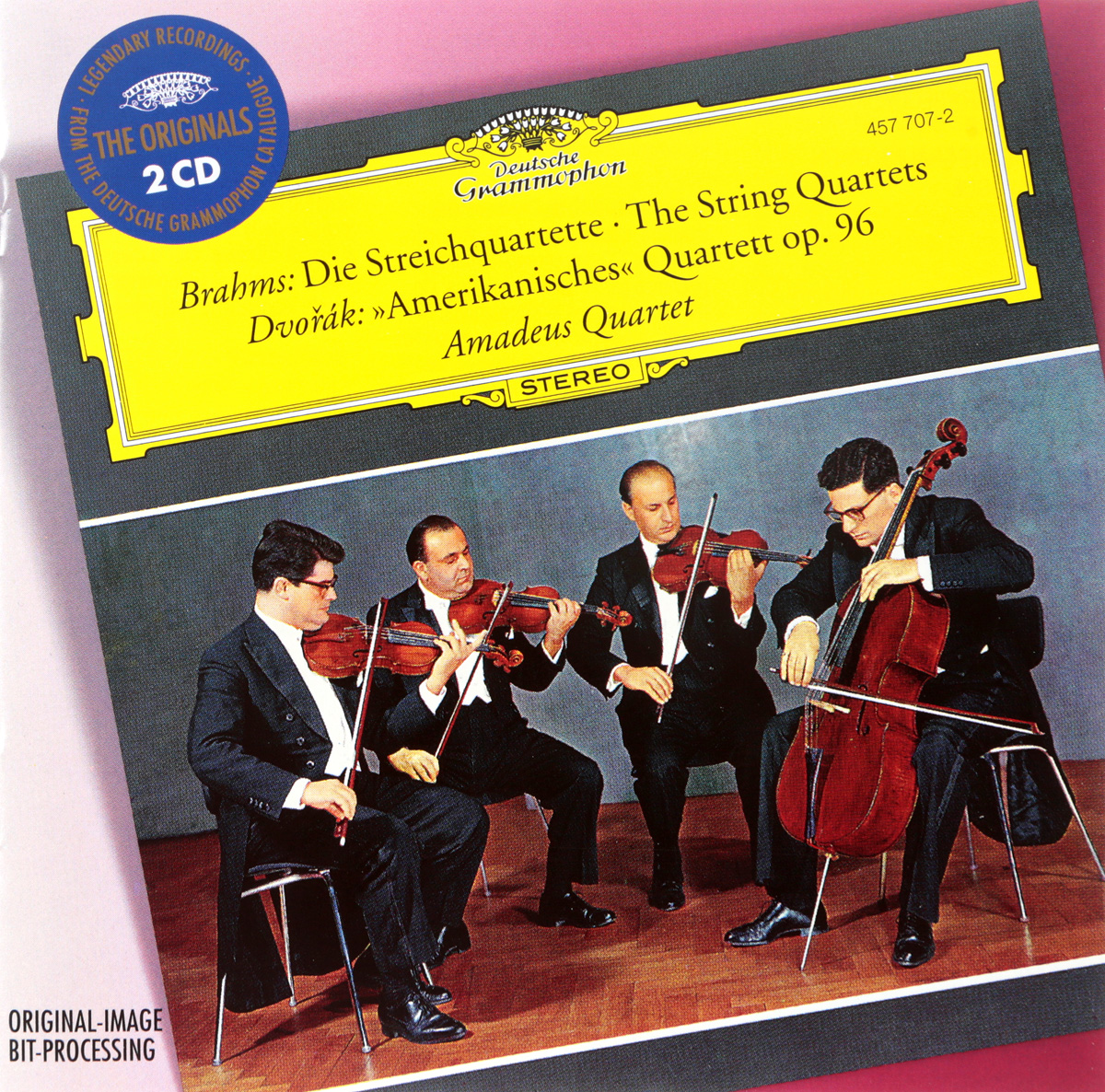 Brahms, Dvorak, Amadeus-Quartett - Brahms: The String Quartets - Dvorak: String Quartet American (2 CD) антонин дворжак antonin dvorak vlach quartet string quartet in g major op 106 lp