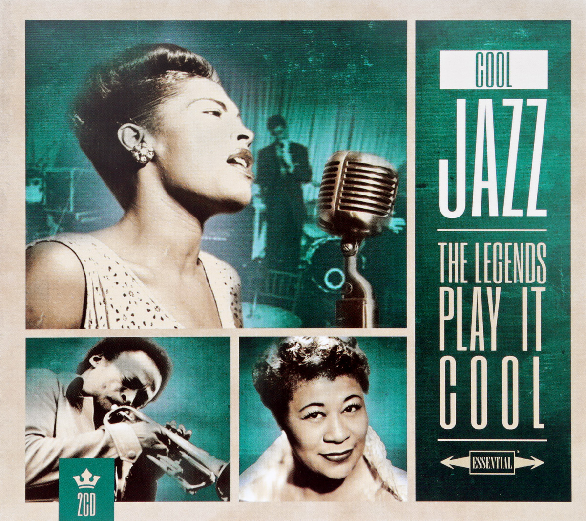 Cool Jazz: The Legends Play It Cool (2 CD) trad jazz 2 cd
