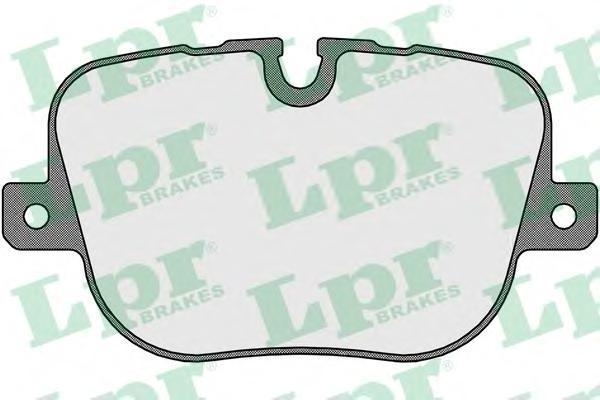 Колодки тормозные задние LPR / AP 05P165205P1652