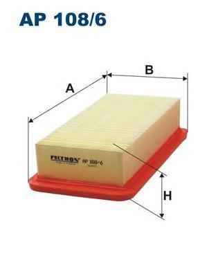 Фильтр воздушный Filtron AP1086AP1086