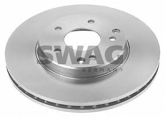 Диск тормозной передний Swag 10918886 комплект 2 шт10918886