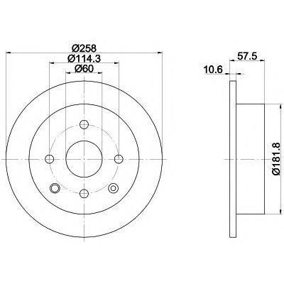 Диск тормозной Textar 92163000 комплект 2 шт92163000