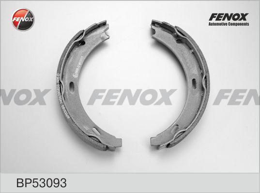 Колодки тормозные барабанные Fenox BP53093BP53093
