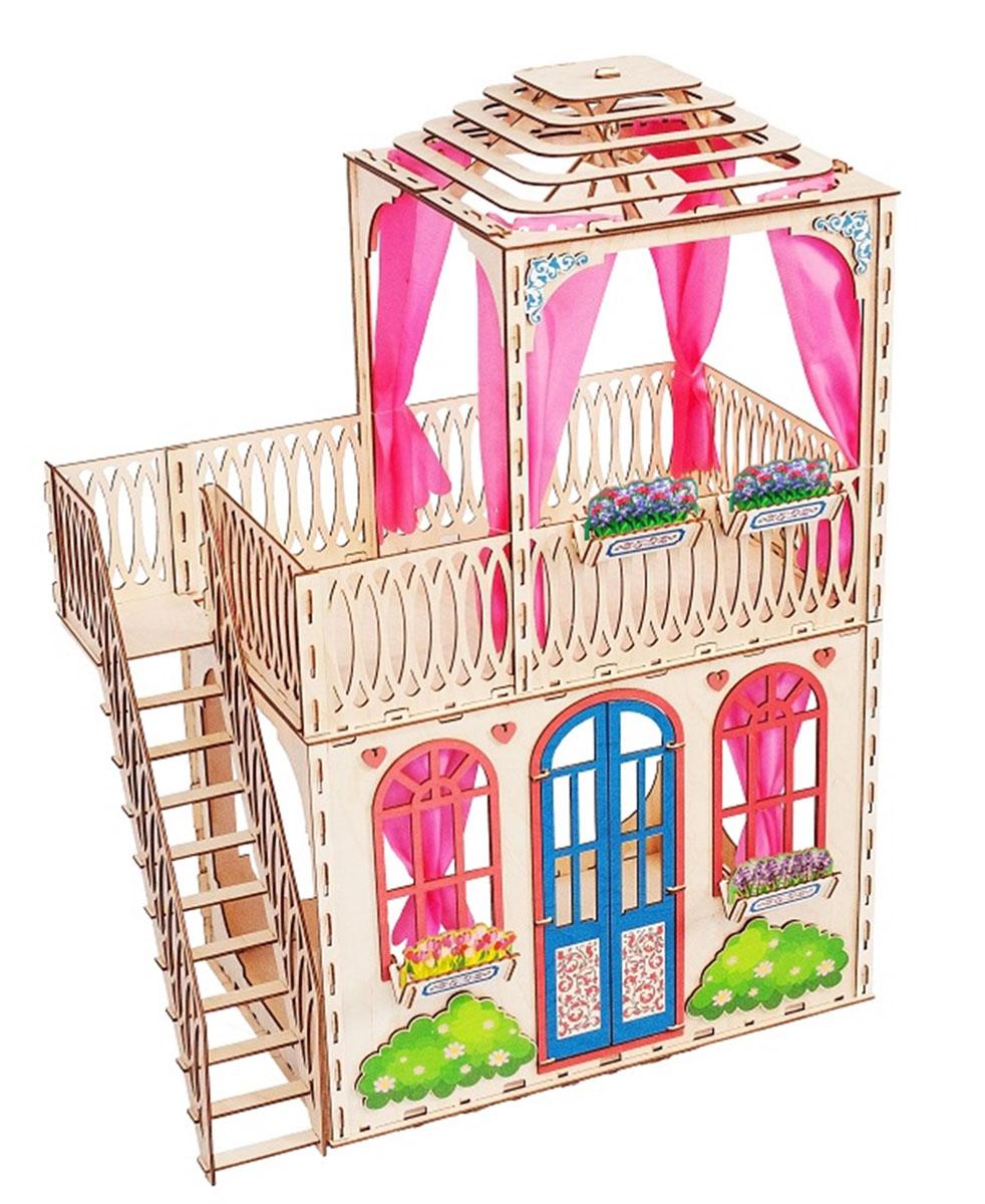 Большой слон Домик для кукол Мечта goki мебель для кукольной ванной комнаты дворец 17 предметов