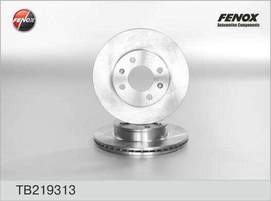Диск тормозной Fenox TB219313TB219313