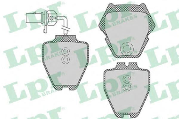 Колодки тормозные LPR / AP 05P112105P1121