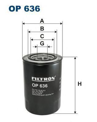 Фильтр масляный Filtron OP636OP636