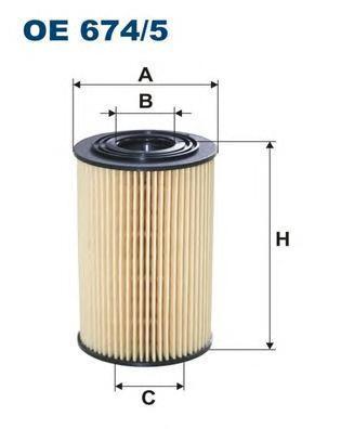 Фильтр масляный Filtron OE6745OE6745