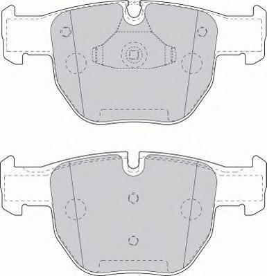 Колодки тормозные дисковые Premier Ferodo FDB1597FDB1597