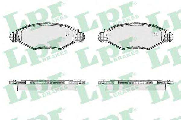 Колодки тормозные передние LPR / AP 05P90305P903
