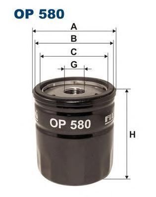 Фильтр масляный Filtron OP580OP580