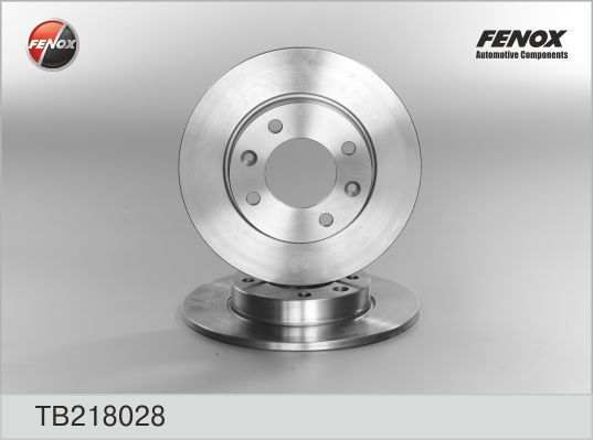 Диск тормозной Fenox TB218028 комплект 2 штTB218028