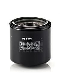 Фильтр масляный Mann-Filter W1228 sephora vintage filter палетка теней vintage filter палетка теней