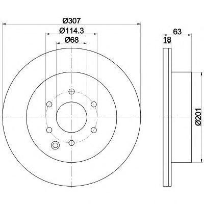 Диск тормозной Textar 92181603 комплект 2 шт92181603