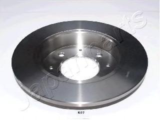 Диск тормозной Japanparts DPK07 комплект 2 штDPK07
