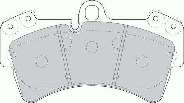 Колодки тормозные дисковые Premier Ferodo FDB1626FDB1626
