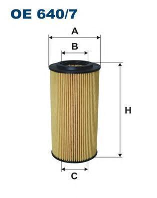 Фильтр масляный Filtron. OE6407OE6407