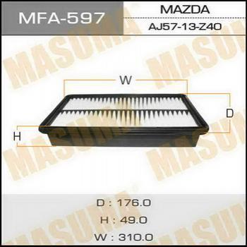 Фильтр воздушный Masuma MFA597MFA597