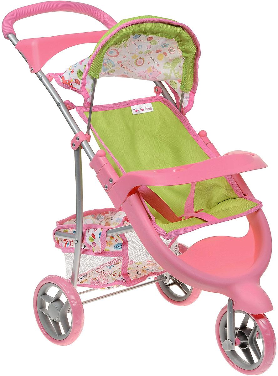Bon Bon Berry Трехколесная коляска для кукол цвет розовый айрис пресс обучающая игра умный блокнот еда уровень 1
