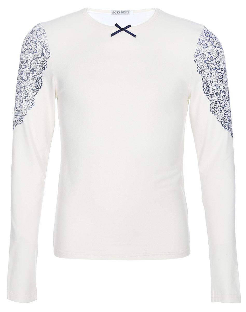 Блузка для девочки Nota Bene, цвет: молочный. CJR27033A17. Размер 122 tutto bene tu009ewuwj50 tutto bene