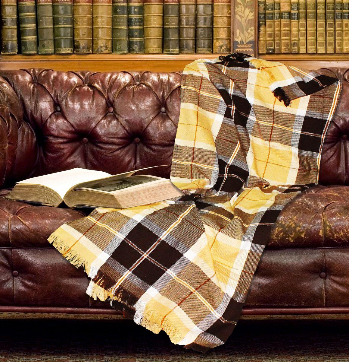Плед Amore Mio Richard, 140 х 200 см. 7461774617Пледы Scotland Amore Mio – Комфорт и Уют - Каждый день! Amore Mio-Разнообразие ярких и современных дизайнов прослужат не один год и всегда будут радовать Вас и Ваших близких сочностью красок и красивым рисунком. Пледы Amore Mio Подарят Вам нежность жаркими летними ночами, теплоту и комфорт прохладными зимними вечерами. Пледы Scotland Amore Mio - легкое, универсальное тканое изделие, с кистями. Пряжей для выработки послужил 100% Акрил. Не зря в народе за акрилом закрепилось имя искусственной шерсти. Потому, что акриловое волокно, на самом деле великолепно удерживает тепло, оно практично и долговечно, оно отлично окрашивается и быстро сохнет. Еще одно преимущество в цене, так как по факту акрил значительно дешевле натуральной шерсти. В ассортименте широкий размерный ряд, разнообразные дизай