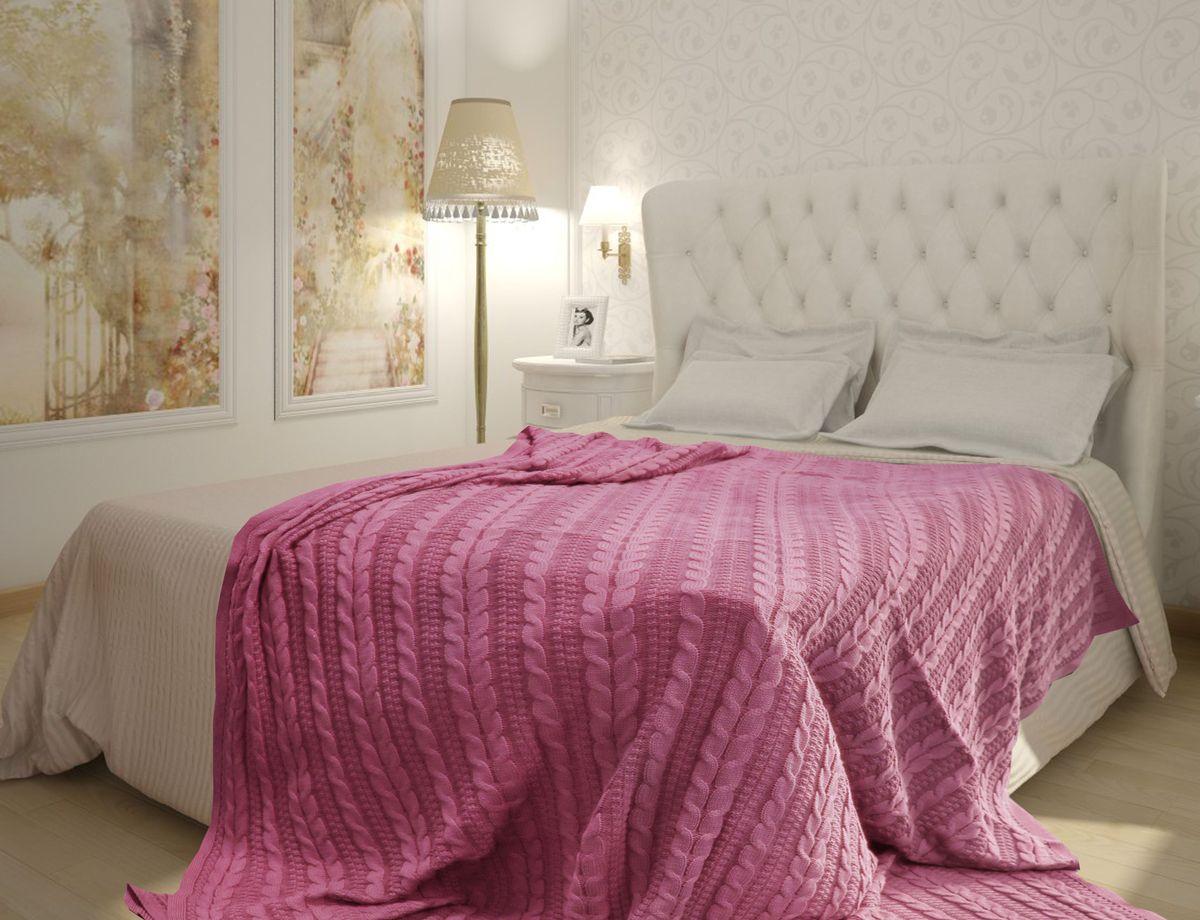 Плед Buenas Noches, цвет: розовый, 180 х 210 см. 7888178881Хлопковые пледы Buenas Noches - мяккие, яркие, современные. Украсят практически любой дом. Могут послужить отличным подарком.