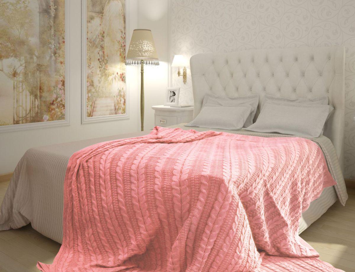 Плед Buenas Noches, цвет: розовый, 150 х 200 см. 8173781737Хлопковые пледы Buenas Noches - мяккие, яркие, современные. Украсят практически любой дом. Могут послужить отличным подарком.