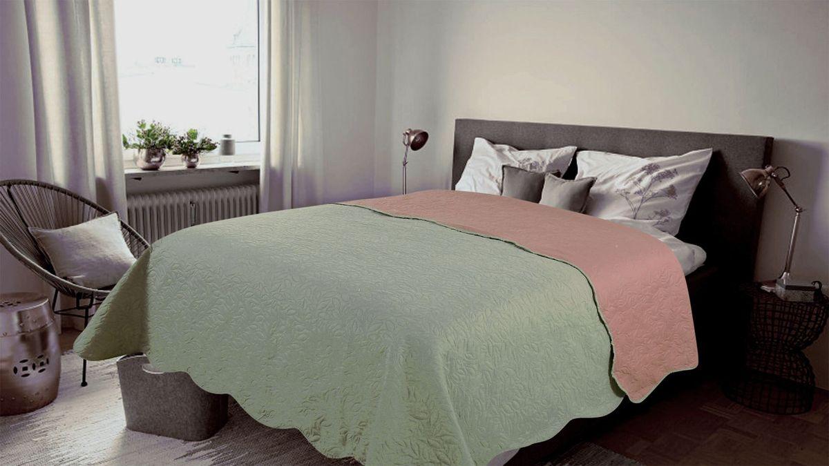 Покрывало Amore Mio Alba, цвет: серый, розовый, 200 х 220 см82239Покрывало AmoreMio Alba выполнено из однотонной микрофибры разного цвета с обеих сторон. Перевернув покрывало, вы меняете свой интерьер. Покрывало яркое, легкое и красивое. Покрывала Amore Mio - идеальное решение для современного интерьера! Amore Mio – комфорт и уют - каждый день! Разнообразие ярких и современных дизайнов прослужат не один год и всегда будут радовать вас и ваших близких сочностью красок и красивым рисунком. Покрывало Amore Mio - однотонное, с кантом. Каждая сторона имеет свой цвет, поэтому настроение можно поменять, лишь перевернув покрывало на другую сторону. Покрывало приятное, мягкое, легкое, может послужить не только на кровати, но и в качестве облегченного одеяла, а также как дорожного пледа, великолепно в качестве покрывала для пикников. Занимает мало места, легко стирается, неприхотливо в уходе, приятным бонусом станет низкая цена.