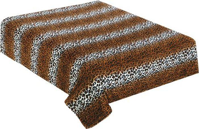 Плед TexRepublic Absolute Flanel. Леопард, 180 х 220 см. 8575785757Пледы TexRepublic фланель - яркие, легкие и необыкновенно мягкие. Ткань выполнена из 100% полиестра по новейшей технологии. Процесс расщепления волокна и дополнительные расчесывания делают эти пледы особенно воздушными.