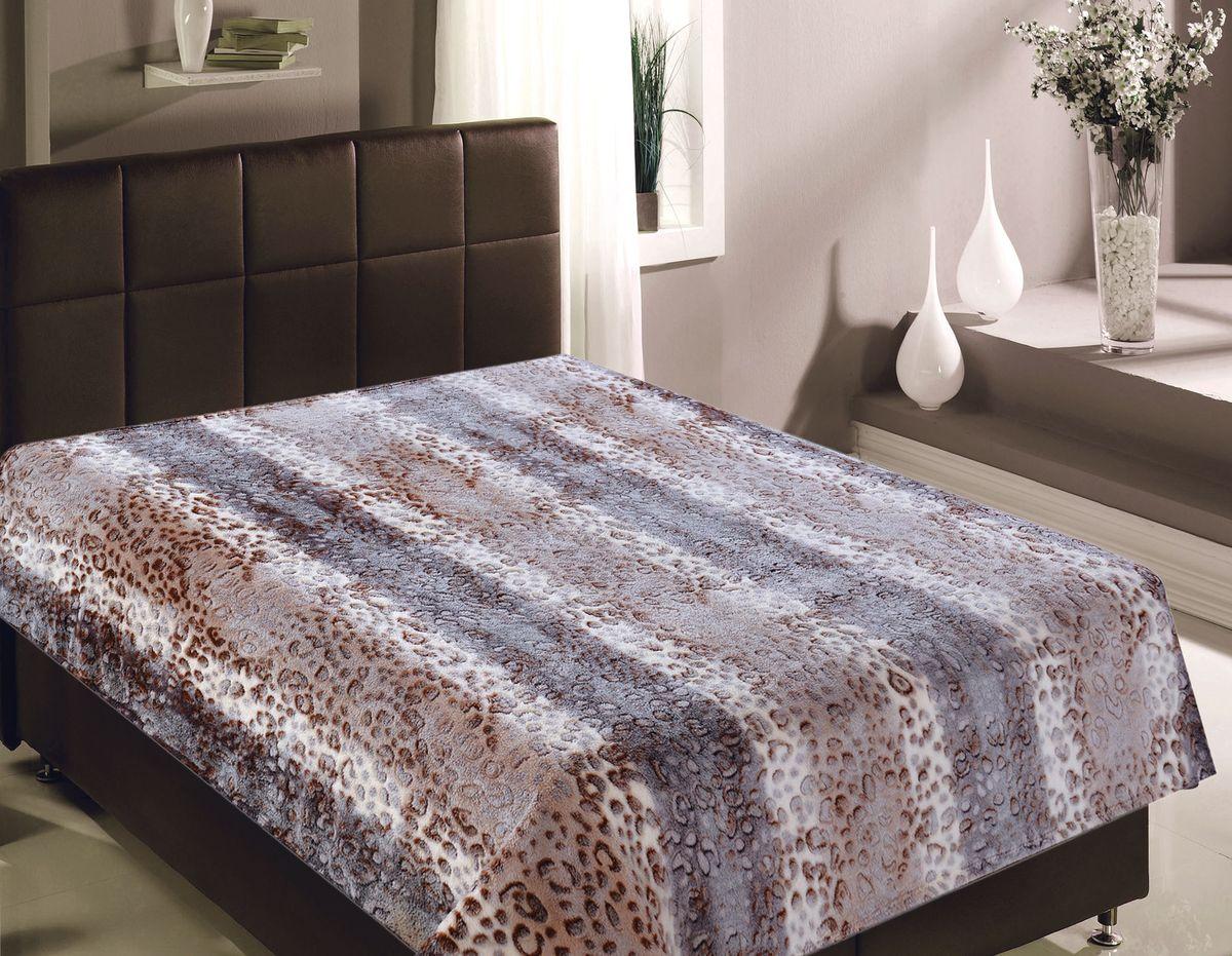 Плед Buenas Noches Bamboo. Леопард, 150 х 200 см. 8673386733Пледы Buenas noches из колекции Bamboo - классические дизайны в бежево-коричневой цветовой гамме, объесный рисунок и исключительная мягкость. Ткань выполнена из 100% полиестера, не линяет, не деформируется. Этот плед универсален - может использоваться в качестве пледа, легкого одеяла или нарядного покрывала..