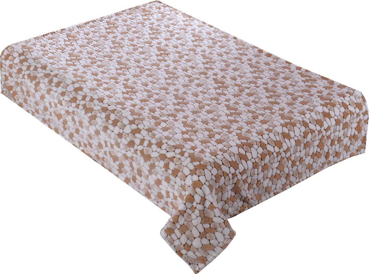 Плед Buenas Noches Bamboo. Новые камешки, 150 х 200 см. 8673886738Пледы Buenas noches из колекции Bamboo - классические дизайны в бежево-коричневой цветовой гамме, объесный рисунок и исключительная мягкость. Ткань выполнена из 100% полиестера, не линяет, не деформируется. Этот плед универсален - может использоваться в качестве пледа, легкого одеяла или нарядного покрывала..