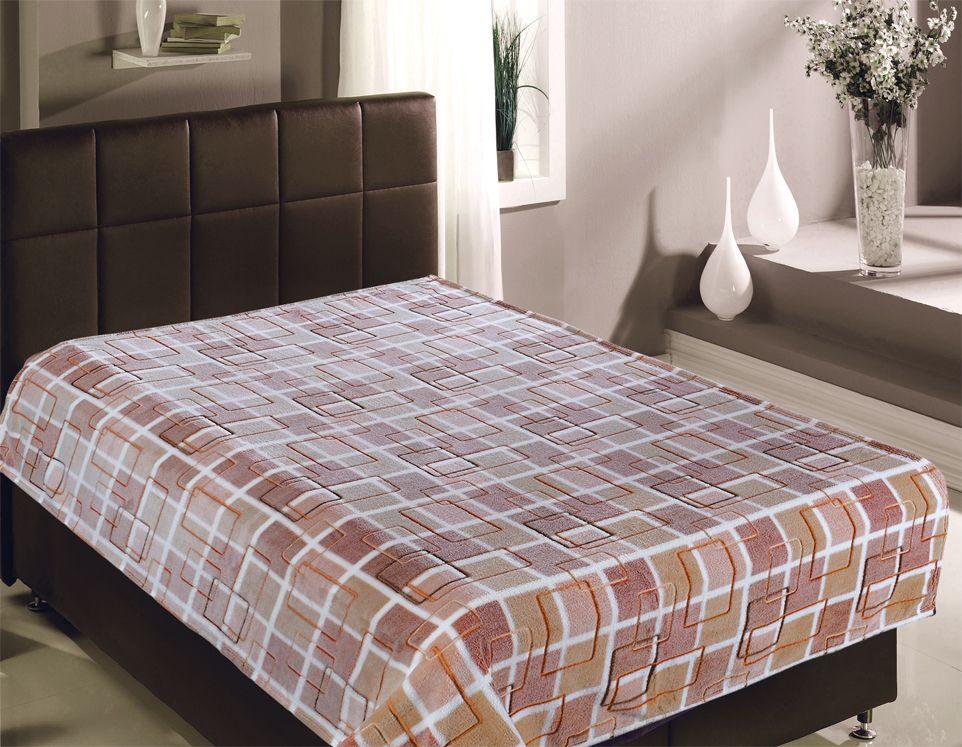 Плед Buenas Noches Bamboo. Клетка, 150 х 200 см. 8674186741Пледы Buenas noches из колекции Bamboo - классические дизайны в бежево-коричневой цветовой гамме, объесный рисунок и исключительная мягкость. Ткань выполнена из 100% полиестера, не линяет, не деформируется. Этот плед универсален - может использоваться в качестве пледа, легкого одеяла или нарядного покрывала..