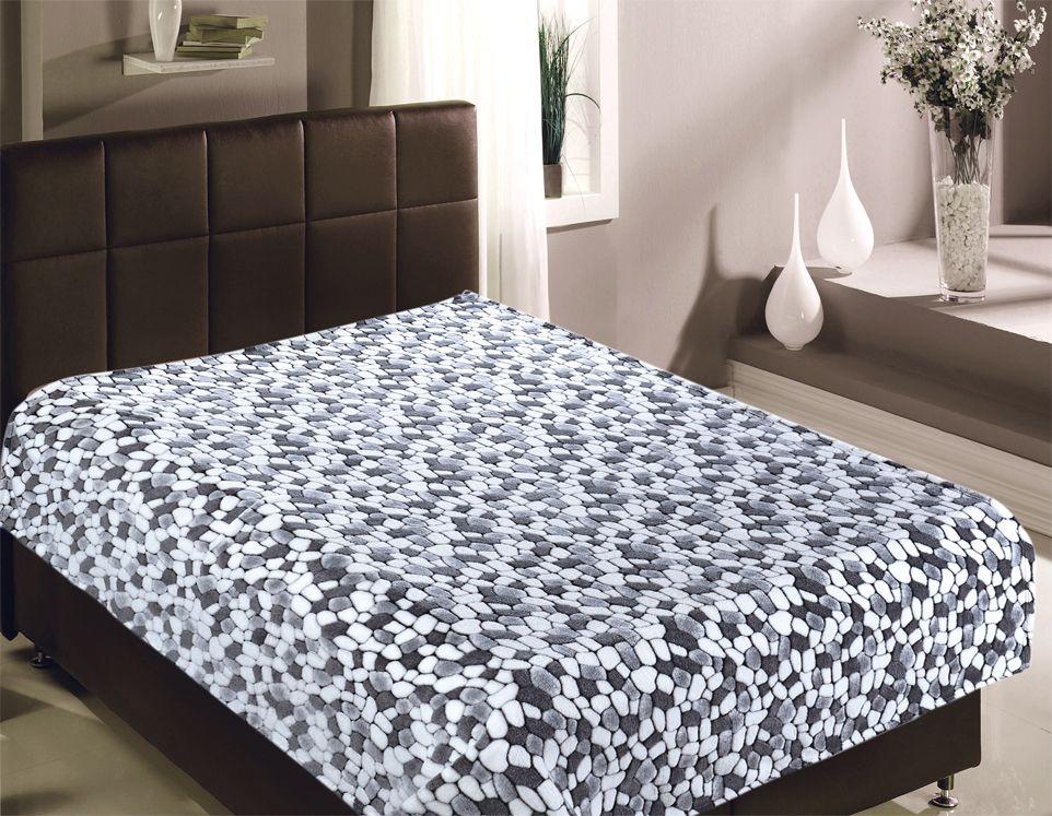 Плед Buenas Noches Bamboo. Новые камешки, 200 х 220 см. 8675386753Пледы Buenas noches из колекции Bamboo - классические дизайны в бежево-коричневой цветовой гамме, объесный рисунок и исключительная мягкость. Ткань выполнена из 100% полиестера, не линяет, не деформируется. Этот плед универсален - может использоваться в качестве пледа, легкого одеяла или нарядного покрывала..
